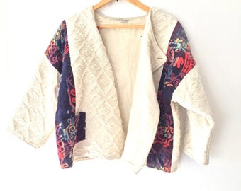 Vintage 90s Quilted Jacket