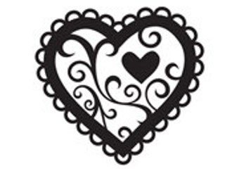 Heart Embossing Folder Darice