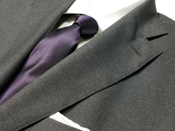 Men/'s Tie David/'s bridal Chianti mauve purple wedding2.5 men necktie plum
