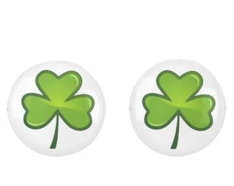 St. Patrick's Day Earrings, Shamrock Earrings, Irish Earrings, St. Patrick's Day Jewelry, St. Patrick's Day Irish Jewery, Irish Gifts