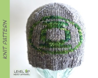 Space Corps Ranger reversible beanie KNITTING PATTERN || Child, Adult || Instant Download