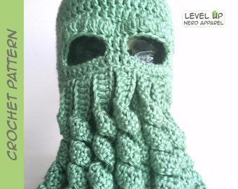 Octopus hat crochet pattern  4ebe16d6938