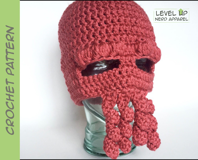 Dr Lobster Hat Crochet Pattern 3 Sizes Instant Download Etsy