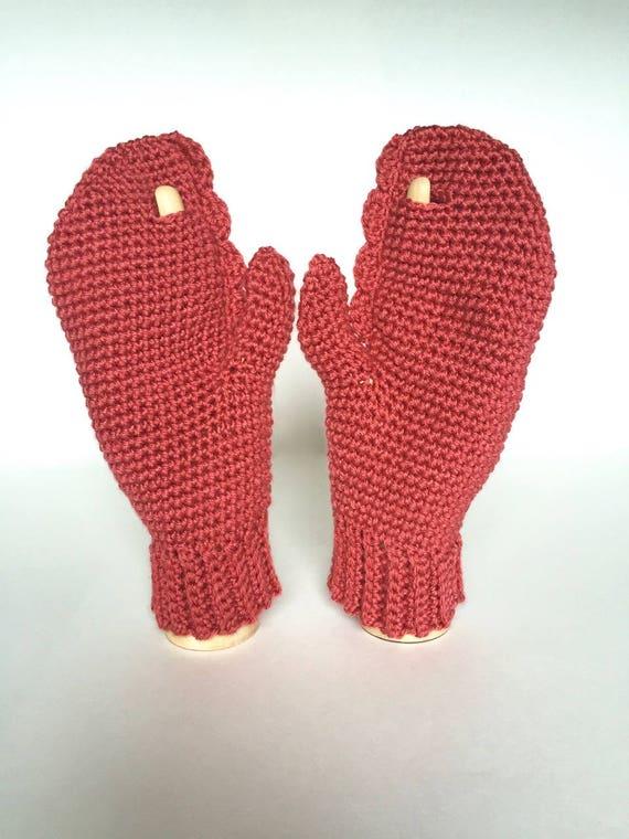 Dr Lobster Mittens Crochet Pattern 3 Sizes Instant Etsy
