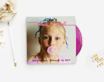 Custom Printed CD Sleeves + CDs, Full Color Double Side Printed CD Cases + Custom Printed CDs, Album Covers, Unique Wedding & Party Favors