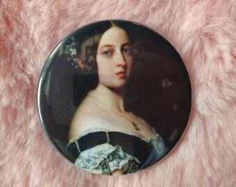 Queen Victoria Victorian Historical Feminist Feminism Pin Badge