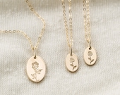 Mother-Daughter Necklace Sets • Special Symbols Necklace Sets • Custom Kids & Mother's Jewelry • Gift for Mom • Silver, Gold Fill • LN222