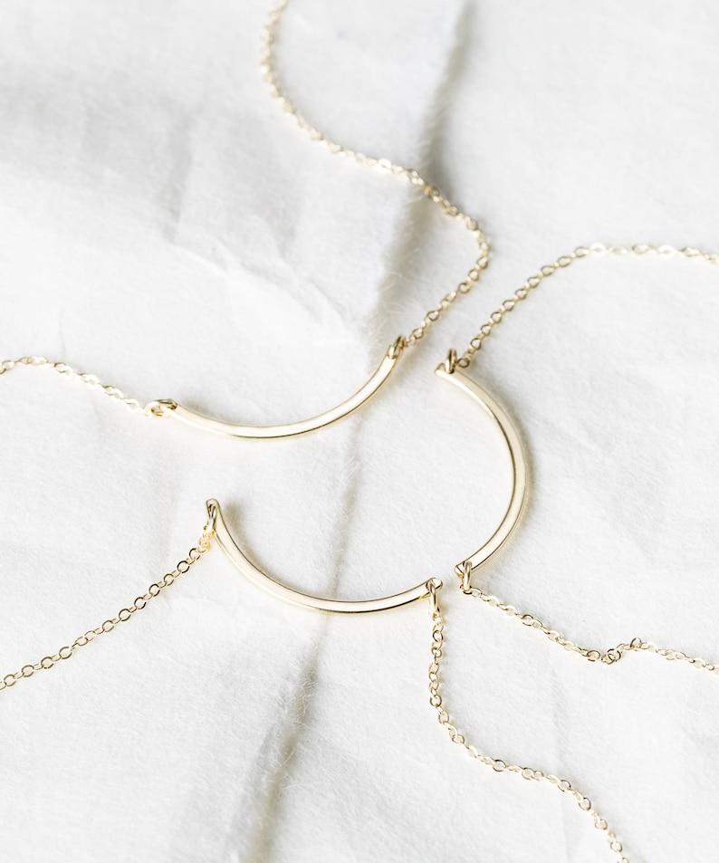 cf803e9cb5e Friendship Necklace Sets Best Friend Jewelry Friendship | Etsy