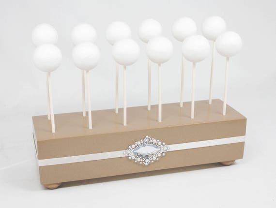 champagne cake pop stand wedding cake pop holder cake pop etsy