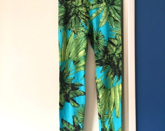 Leggings imprimé tropical   90 s   party leggings fe081ba1d93