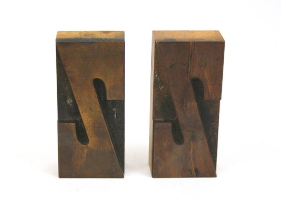 Letterpress Printing Letters 3 38 Wood Letterpress O or Zero Personalized Gift Vintage Printers Type Block