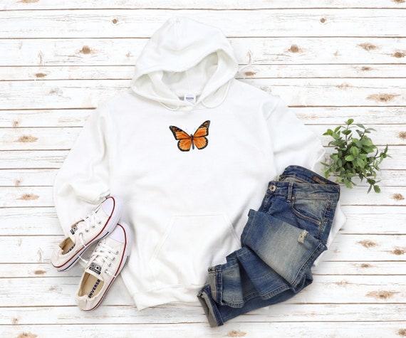 Monarch Butterfly Unisex Heavy Blend Hooded Sweatshirt | Butterfly Hoodie