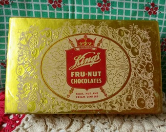 King's Fru-Nut Chocolates Box
