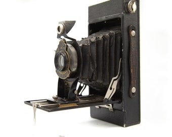 Antique Camera, Kodak Folding Camera, Camera Gifts, Vintage Kodak No. 2c junior, Unique Gifts, Photographer Gift (C1128-G3)