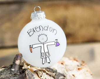 Chemist/Chemistry/Science - Christmas Ornament - Personalized for Free