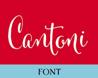 Cantoni Calligraphy Font