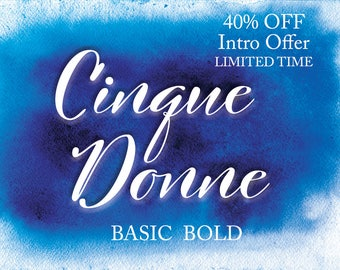 Cinque Donne Basic Bold