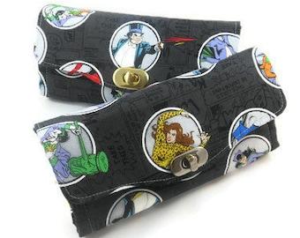 Batman Villains Wallet - NCW Wallet - DC Comics Wallet