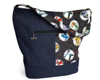 Batman Villains Bucket Bag - DC Comic Bucket Bag Purse - Comic Book Purse - Ready to Ship Villains Bucket Bag