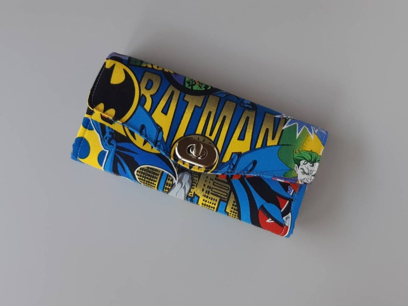 Batman Accordion Style Clutch Wallet image 0