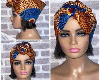 Wired headband, Wired head wrap, Head scarf for women, Turban, Boho Headband, African headband, Ankara headwrap