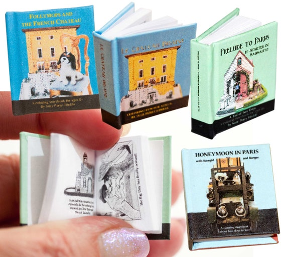 MADE IN AMERICA FAST DELIVERY! HONEYMOON TRIP Dollhouse Picture Miniature Art