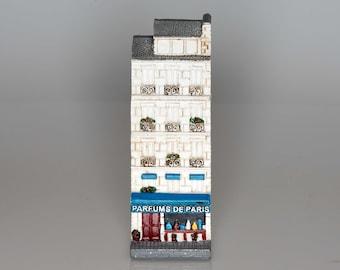 Parfums de Paris -- Collectible miniature French building storefront
