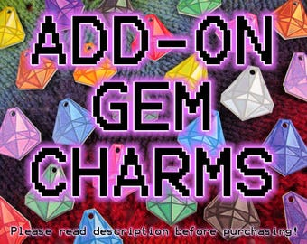 ADD ON** - Mood Gem Necklace - 1 or 2 Additional Charms