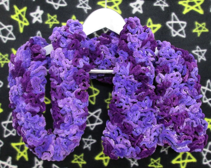 Brain Scarf - Purple