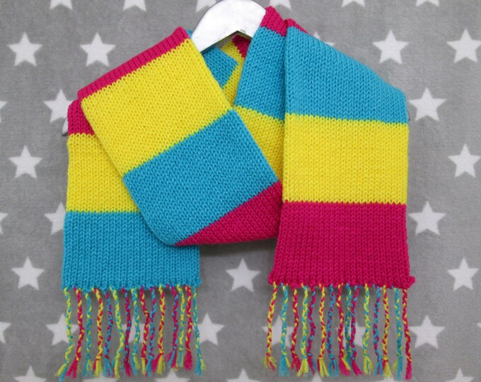 Pansexual Pride Scarf - Acrylic