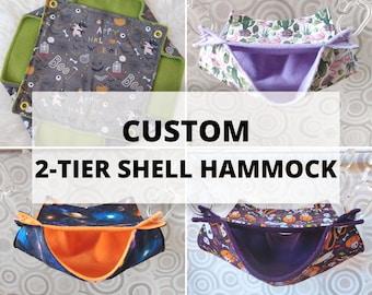 CUSTOM 2-tier Shell Hammock