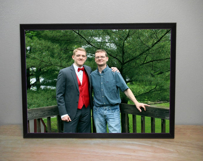 8 x 10 Photo Plaque Personalized With Your Family Pictures, Senior Pictures, Prom Photo, Baby Photo full digitial color plaque