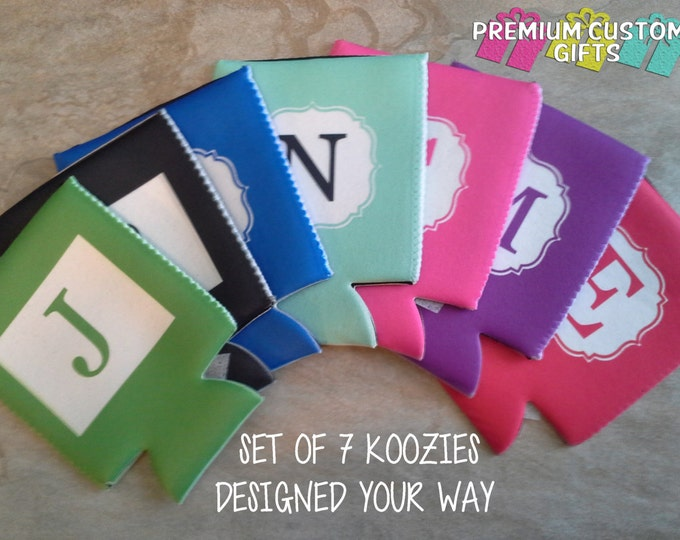 7 Personalized Coolers - Perfect For Bachelorette Parties and Other Occasions Design#K133