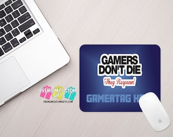 Gamer Mouse Pad - Custom Mouse Pad - Gamer Tag Mouse Pad - Personalized Mouse Pad - Computer Desk Accessories - Gamer Gift - Computer Gift