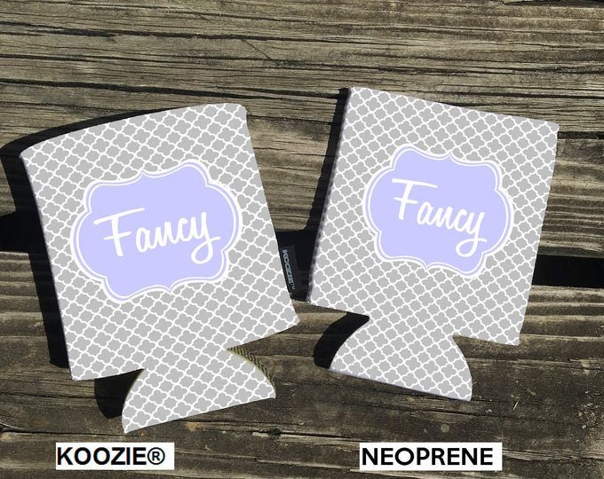 Offering KOOZIE ® Brand can coolers. Small Clover Background. Choose either Neoprene or KOOZIE ® Brand. Vacation - Beach beverage insulators