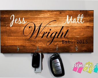 Housewarming-Just Married- Made of MDF - Personalize For Wedding- Customer Gift - Holiday - Anniversary - Gift - Design #KH182