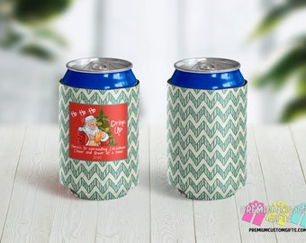 Christmas Can Coolers - Christmas Party Favor - Christmas Party - Holiday Beer Can Cooler - Spread Christmas Cheer One Beer at a Time