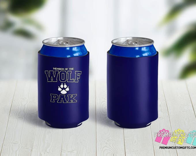 Bachelor Can Coolers - Personalized Can Coolers - Bachelorette Can Cooler - Custom Coolies -  Custom Party Favors - Vacation Can Coolers