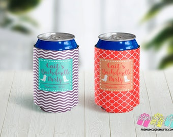 Nashville Bachelorette Party Custom Can Coolers - Vacation Can Coolers - Custom Can Coolers - Destination Can Coolies - Beer Can Coolers