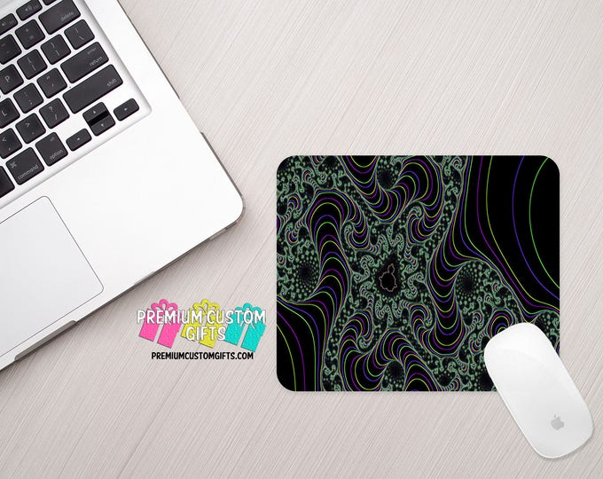 Abstract Art Mouse Pad - Custom Mouse Pad - Personalized Mouse Pad - Home Office - Desk Set - Computer Mouse Pad - Office Gift - Mousepad