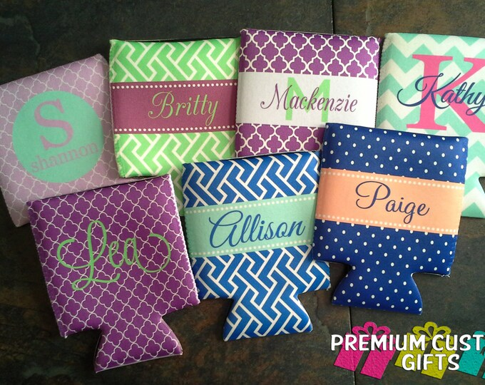 Personalized Coolers - Custom Coolers - Monogrammed Gift - Birthday Coolers - Wedding Coolers - Bachelorette Coolers - No Minimum