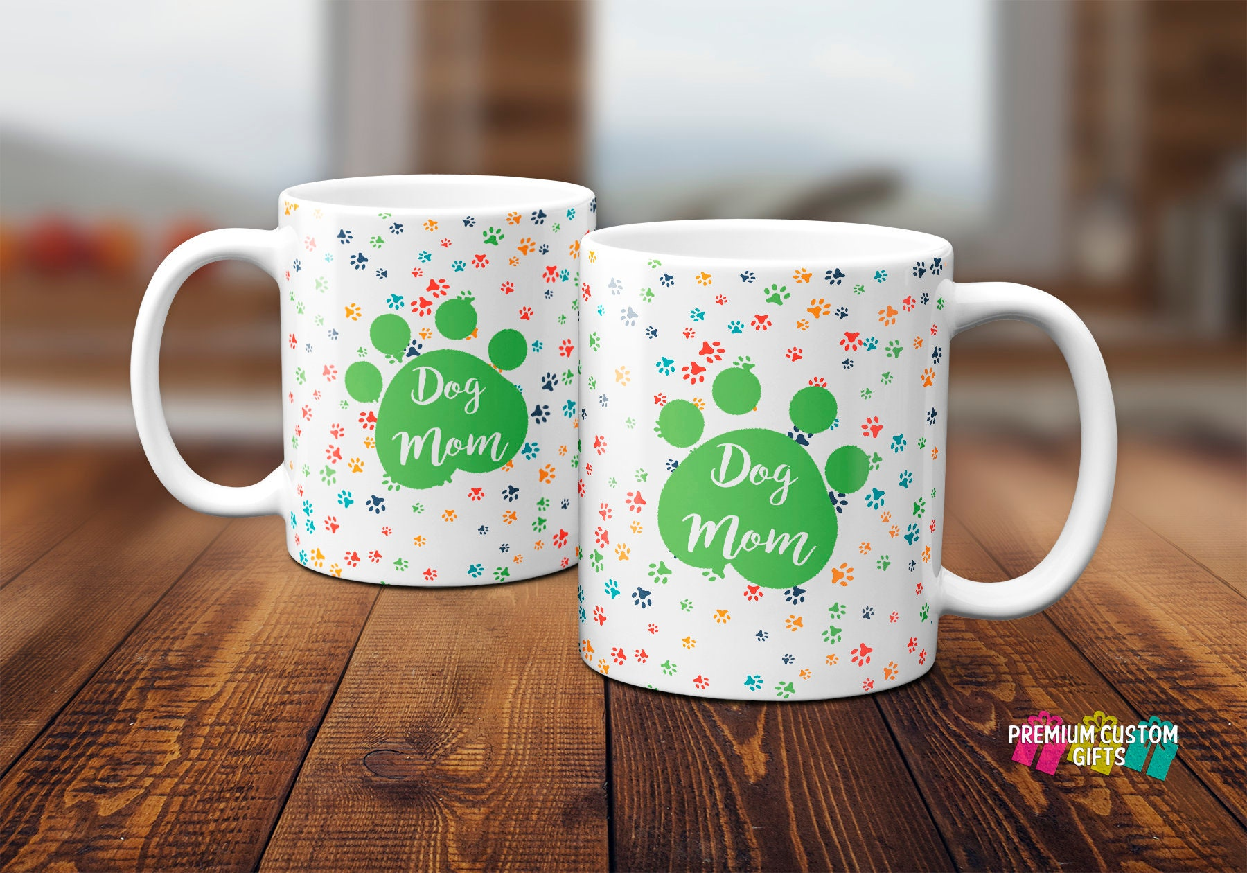 The Mug Coffee >> Dog Mom Coffee Mug Dog Mom