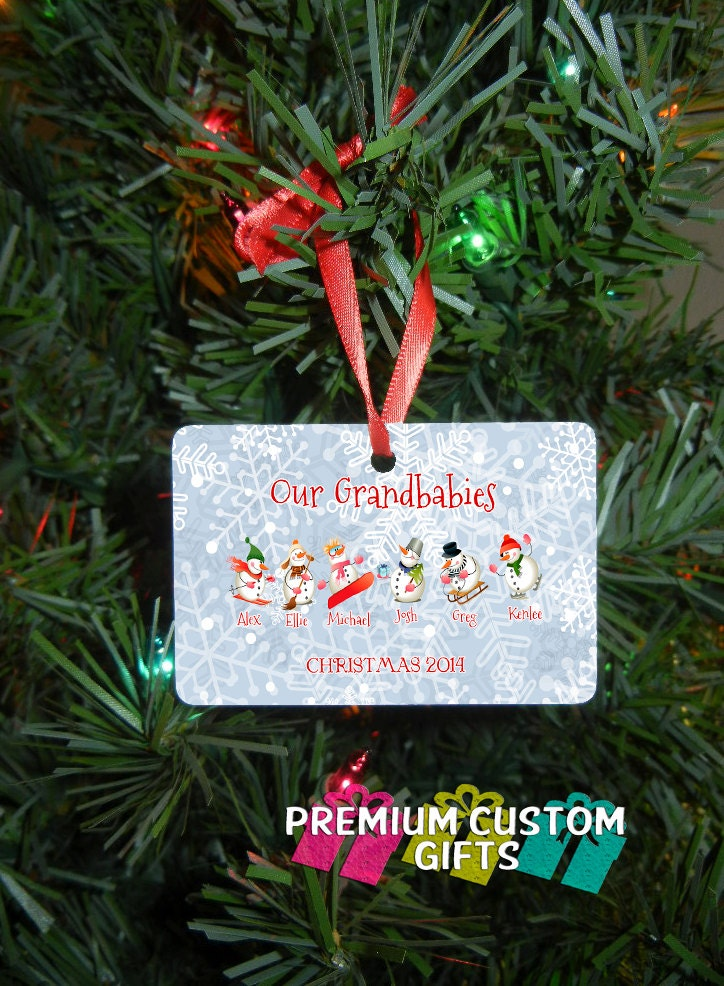 Our Grandbabies Christmas Ornament - Grandparent Gift - Grandparent ...