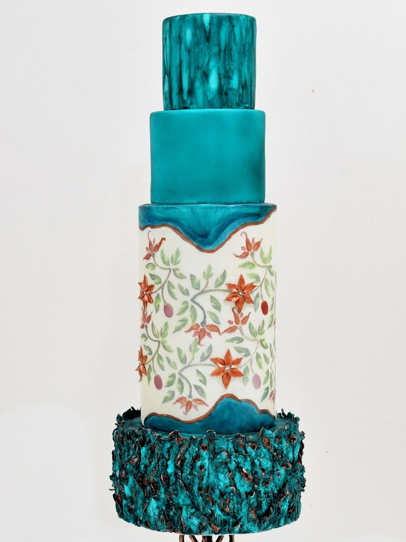 Stenciling Tutorial For Cake Decorating image 0