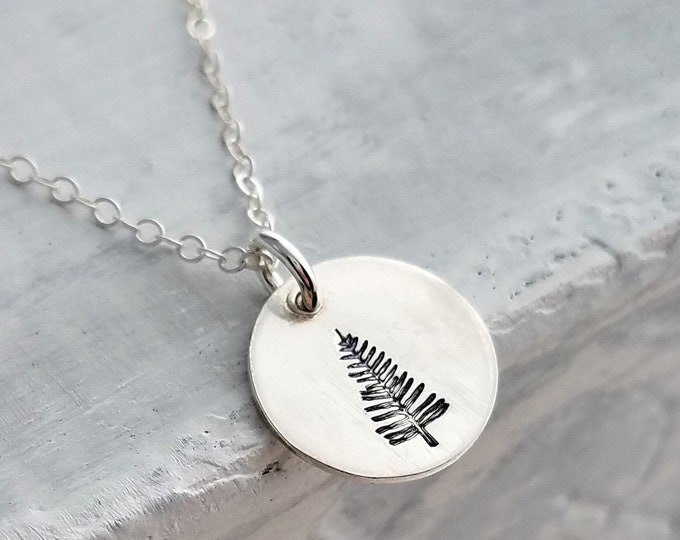 Pine Tree Necklace, Nature Jewelry, Outdoorsy gift, Christmas lover Gift, Gift Idea