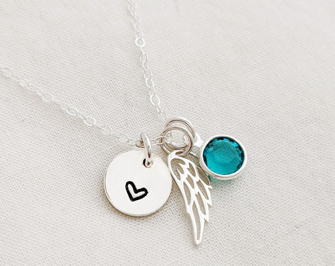 Memorial Necklace | Miscarriage Jewelry | Miscarriage Gift | Grief Gift