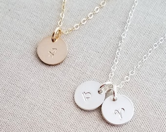 Tiny Zodiac Necklace- Birthday Gift - Zodiac Jewelry- Sterling Silver Charm Necklace - Dainty Jewelry