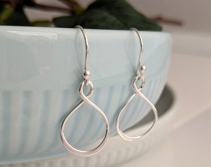 Everyday Silver Earrings, Simple Sterling Earrings, Dainty Jewelry, Gift for Her