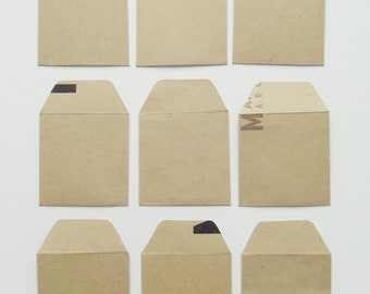 Craft  Mini Envelopes Handmade - 100% Recycled Mini Envelopes - Eco Friendly Gifts - Original and uniques -
