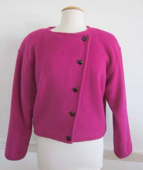 Ungaro Jacket / Pink Ungaro Jacket / Vintage Ungar